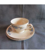 Vintage Princess Anne Golden Dusk Cup, Saucer & Desert Plate - Ostrow China - $15.88