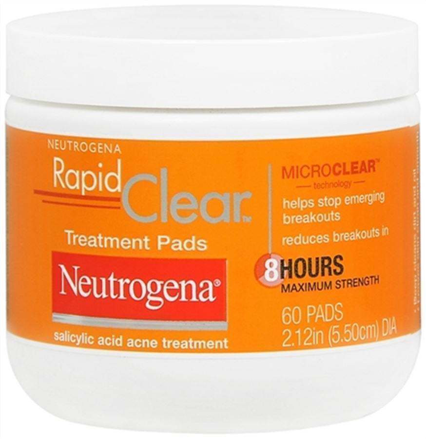 Neutrogena Rapid Clear Treatment Pads 60 Each