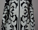 White leather leaf jacket for women design03 xl 1 thumb155 crop