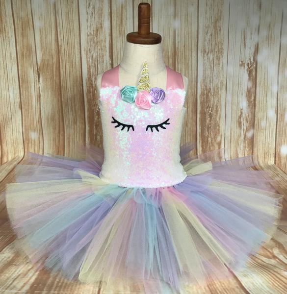 65ee70723ab1 Unicorn Tutu, Unicorn Dress, Girls Unicorn Tutu, Unicorn Costume