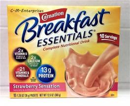Carnation Breakfast Essentials Strawberry Sensa... - $7.91