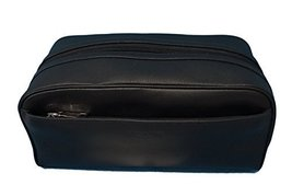 COACH Leather Travel Dopp Kit Toiletries Bag in Black 58542 - $148.50