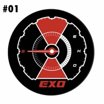 EXO Kpop Chanyeol Baekhyun Badge Brooch Pin Lapel Backpack Jewellery Accessories image 2