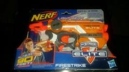 Brand New Nerf N-Strike Elite Firestrike Blaster w/ Light Beam Targeting  - $9.10