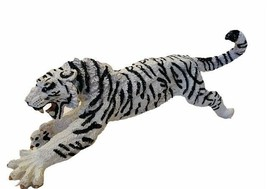 Safari White Siberian Tiger plastic rubber animal figure toy 1997 vtg ca... - $48.33