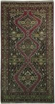4x7 OLD Persian Kordistan Rug WOOL ON WOOL- Vintage - $659.65
