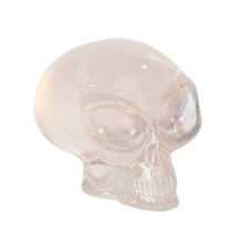 PTC Pacific Giftware Big Eyed Alien Skull Clear Finished Statue Figurine... - £12.31 GBP