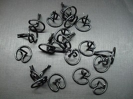 """20 pcs 1930's 1940's 1950's Buick Cadillac Chevy Pontiac moulding clips 3/4"""" NOS - $12.60"""