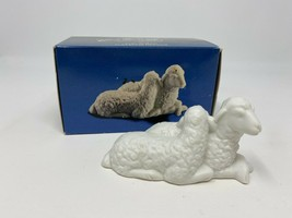 Vintage 1980s The Avon Nativity Collectibles The Sheep Porcelain Figurine - $15.83