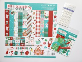 Not A Creature Was Stirring.  BASIC Kit with BONUS. Photoplay Paper CLEARANCE