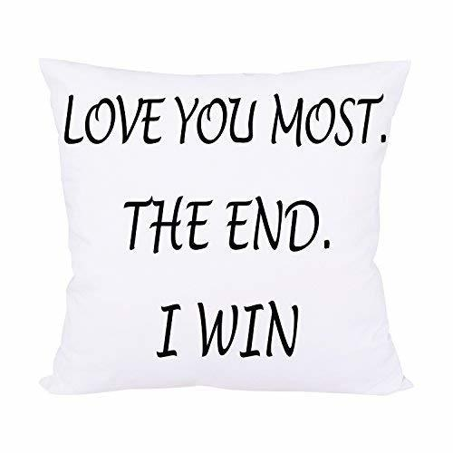 Bleum Cade Love You Most The End I Win Decorative Throw