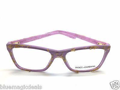 dc5aa50224 DOLCE   GABBANA Leaf Gold Violet eyeglasses frame   Clear DG3220 2919 54MM