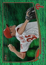 2013 Topps Emerald #332 Cole Hamels NM-MT Phillies - $2.99