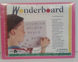 Wonderboard MAGNETIC NUMBERS SET NEW USA Dowling Magnets Educational EUC... - $39.99