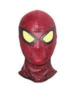 The Amazing Spider-Man Cosplay Masks Hood Halloween Full Face Mask - $20.87