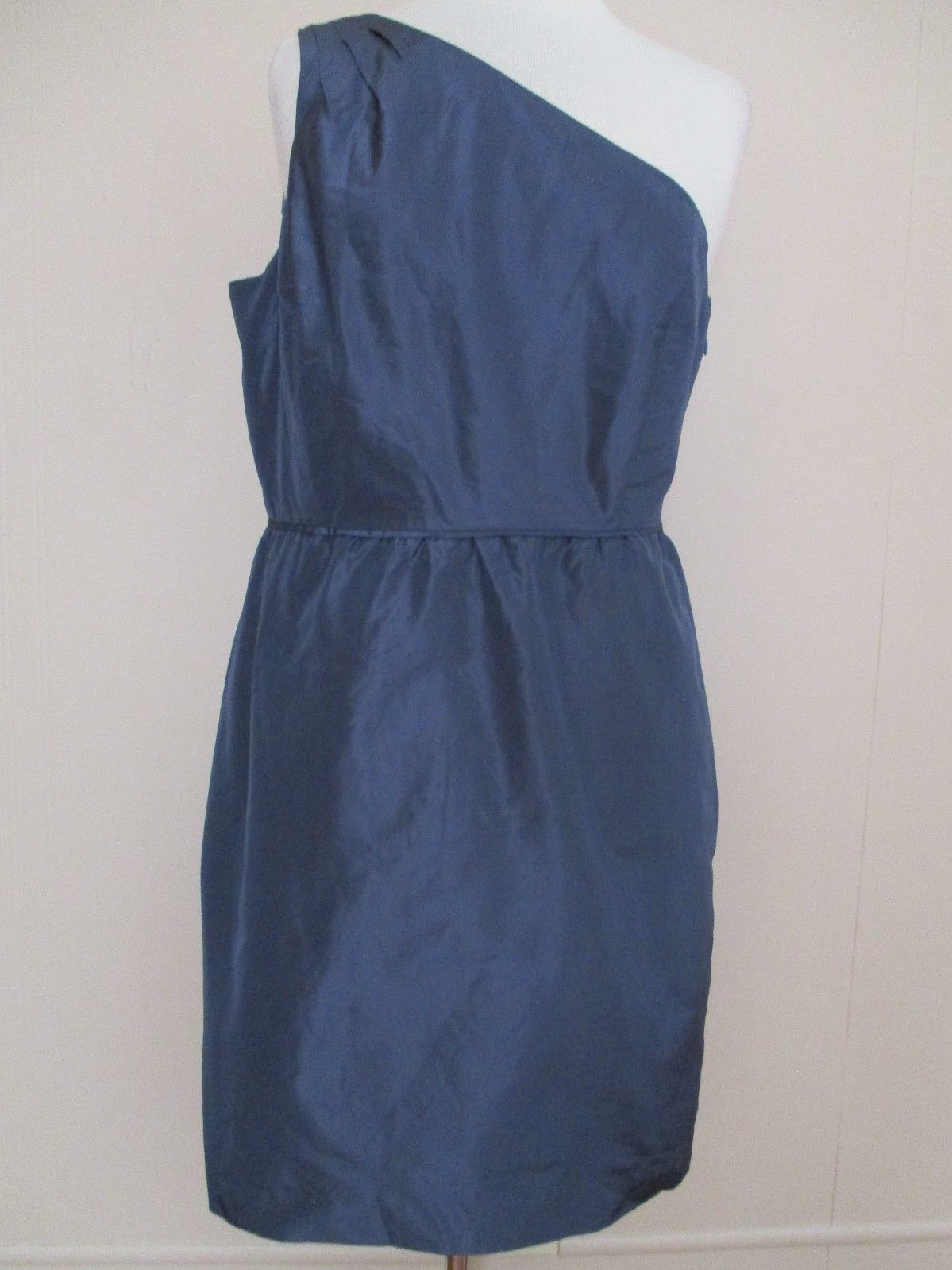965d640a4 NWT J. Crew Party Dress blue-gray silk and 50 similar items