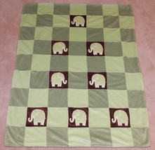 Amy Coe Limited Edition Green/Brown Elephant Ba... - $24.14