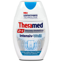 Theramed INTENSIVE WHITE 2 in 1 toothpaste -Made in Germany- 75ml - $5.49