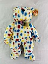 "Ty Beanie Baby TY 2K Bear 14"" Plush 1999 - $19.79"