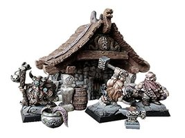Spellcrow Miniatures Northern Dwarves with Smithy