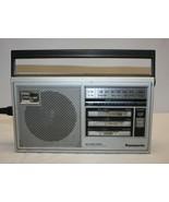Panasonic Vintage AM/FM 2-Band Radio with Carrying Handle Model # RF-559 - $25.73