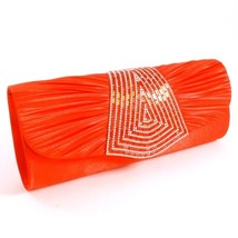 PDP041-RED Fashion Evening Clutch Bag - $21.24 CAD