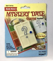 NEW Mini Mystery Date Game Keychain By Basic Fun - RARE Discontinued NOS... - $56.05