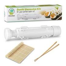 All-In-One Sushi Making Kit - Sushi Bazooka, Sushi Mat  Bamboo Chopstick... - $18.33