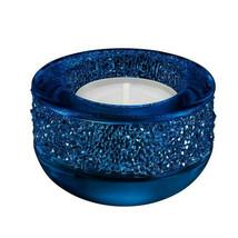 SWAROVSKI SHIMMER TEA LIGHT CANDLE HOLDER ~ DARK BLUE ~ #5136918 ~ NEW I... - $79.95