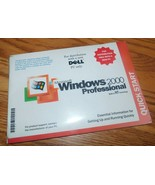 Microsoft Windows 2000 Professional For Dell Green CD Full Version Sealed - $23.75
