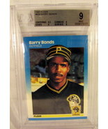 1987 Fleer #604 Barry Bonds BGS Beckett 9.0 - $12.49