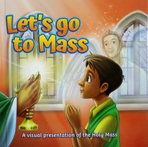 Let's Go To Mass Hardcover Book Brother Francis Presentation of the Holy... - $12.22