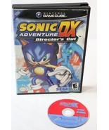 Sonic Adventure DX Director's Cut Nintendo GameCube 2003  - $12.86