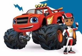 CAKEUSA Blaze and the Monster Machines AJ Birthday Cake Topper Edible Im... - $10.90
