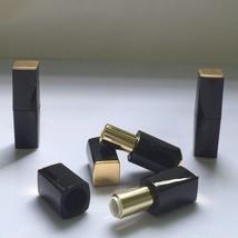 Doristools® 6pc High Quality Empty Elegant Black Glossy Square Plastic L... - $10.04