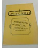 1974 MGA Awiting Pilipino Sheet Music - $49.00