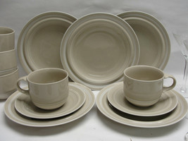 LOT of MIKASA CHINA - FREE SPIRIT Pattern #PT804 - SALAD PLATES & CUP/ S... - $32.95