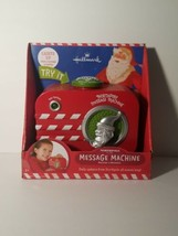 Hallmark North Pole Message Machine Delivers Messages from Santa. NEW IN... - $92.52