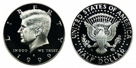 1999 S Proof Kennedy Half Dollar CP2038 - $4.75