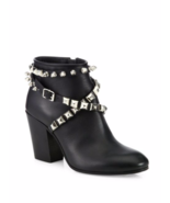 Giuseppe Zanotti Birel Studded Leather Booties 6.5 MSRP: $1,295 - $799.00