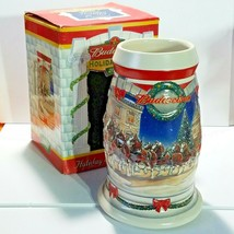 """Budweiser Anheuser-Busch® 2001 Holiday Stein Holiday at The Capitol 6 3/4""""  - $16.66"""