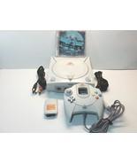 Sega Dreamcast Console Blue LED, Controller, Memory Card, AV, AC, Test D... - $69.99