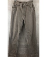 Lee Riveted High Waist Denim Gray Wash Denim Jeans Size 12 Straight Leg USA - $17.77