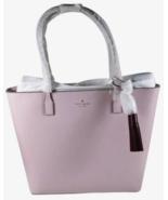 New Kate Spade Karla Wright Place Tote handbag with tassel Plum Dawn / Rioja - $134.06