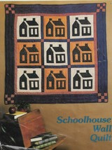 "Quilt Pattern-Schoolhouse Wall Quilt-By Yours Truly-Finished Size 47"" Square - $4.95"