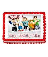 Roblox Gaming Edible Cake Image Cake Topper - $8.98+