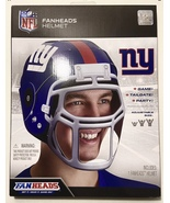NIB NY Giants NFL Fanheads Adjustable Sz Helmet Jakks Tailgating Party F... - $11.87