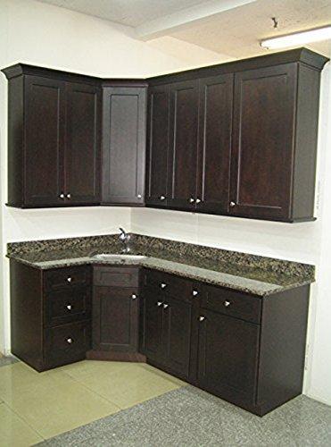 Nuevo Shaker Collection Monda 10x10 Kitchen Cabinets