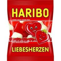 HARIBO Liebesherzen LOVE HEARTS gummies -MINI BAG 100g - $3.12