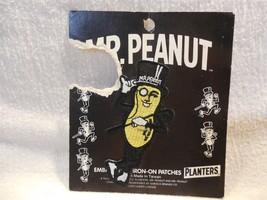 Planters Peanut Mr Peanut Embroidered Iron-On Patch Unused - $3.95